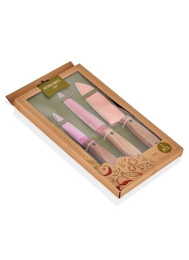 Cutt Mutfak Bıçak Seti Renkli - 3 Lü Set-The Mia